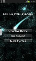 Screenshot of Falling Star Keyboard