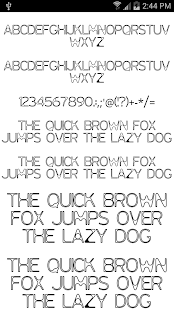 Fonts for FlipFont #16- screenshot thumbnail