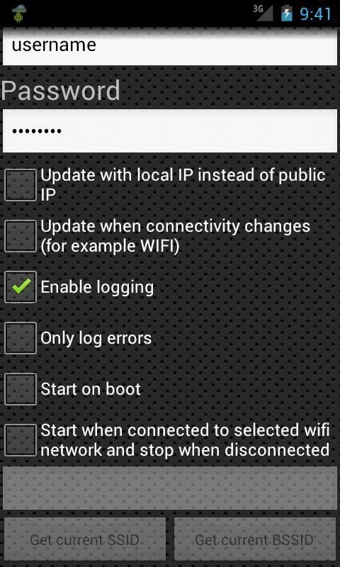 Dynamic DNS Update- screenshot