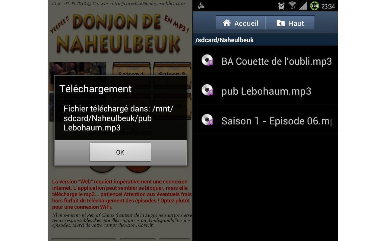 Le Donjon de Naheulbeuk!- screenshot