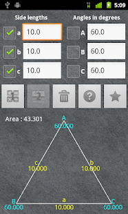 Universal Triangle Solver- screenshot thumbnail