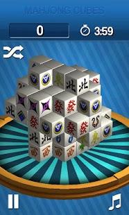 Mahjong Cubes - screenshot thumbnail
