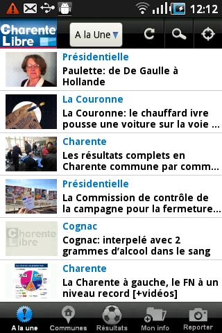 Charente Libre - screenshot