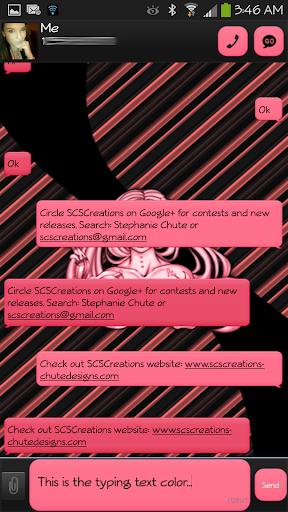 GO SMS - Sugar Sklz 3