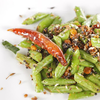 Stir-Fried Green Beans with Coconut.