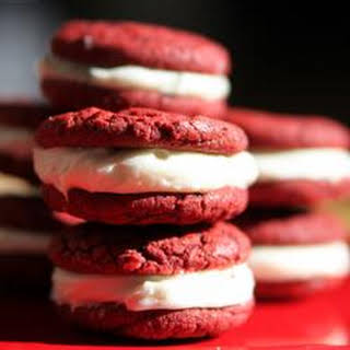 Dawn's Easy Red Velvet Sandwich Cookies.