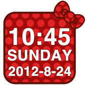 Special Kitty Clock Widget