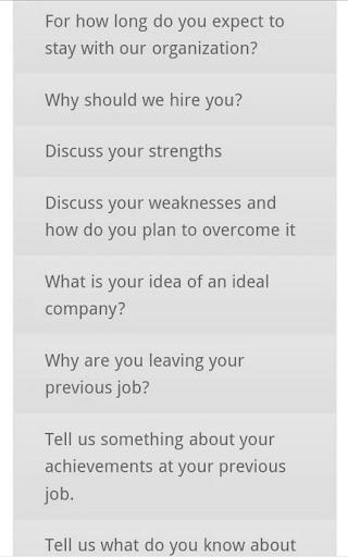 免費生產應用App 100 Best Interview Questions 阿達玩APP