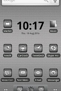 ADW Theme | DroidArmor LITE - screenshot thumbnail