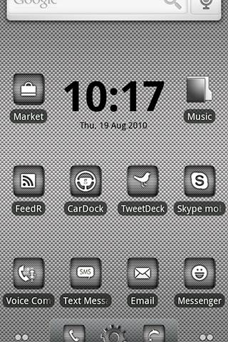 ADW Theme | DroidArmor LITE - screenshot