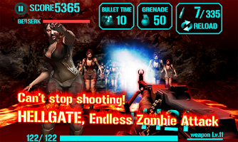 Screenshot of GUN ZOMBIE : HELLGATE