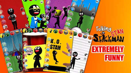 Talking Stan Stickman Deluxe