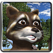 Talking Raccoon Rascal Free