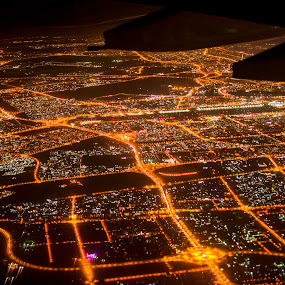 DUABI by Abhijeet Kumar - City,  Street & Park  Night ( landmark, night photography, duabi, cityscape, landscapes, landscape, night shot, nightscapes, nightscape )