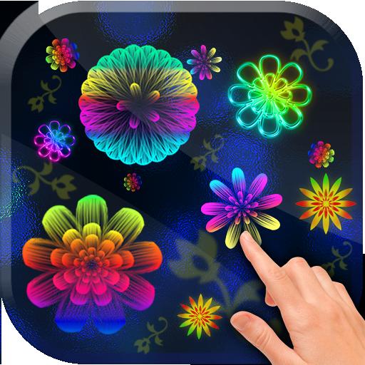 app insights neon flowers live wallpaper apptopia