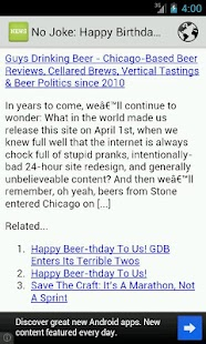 Beer News- screenshot thumbnail