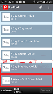 Yorkshire Bus M-tickets- screenshot thumbnail