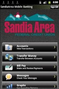 Sandia Area Mobile Banking- screenshot thumbnail