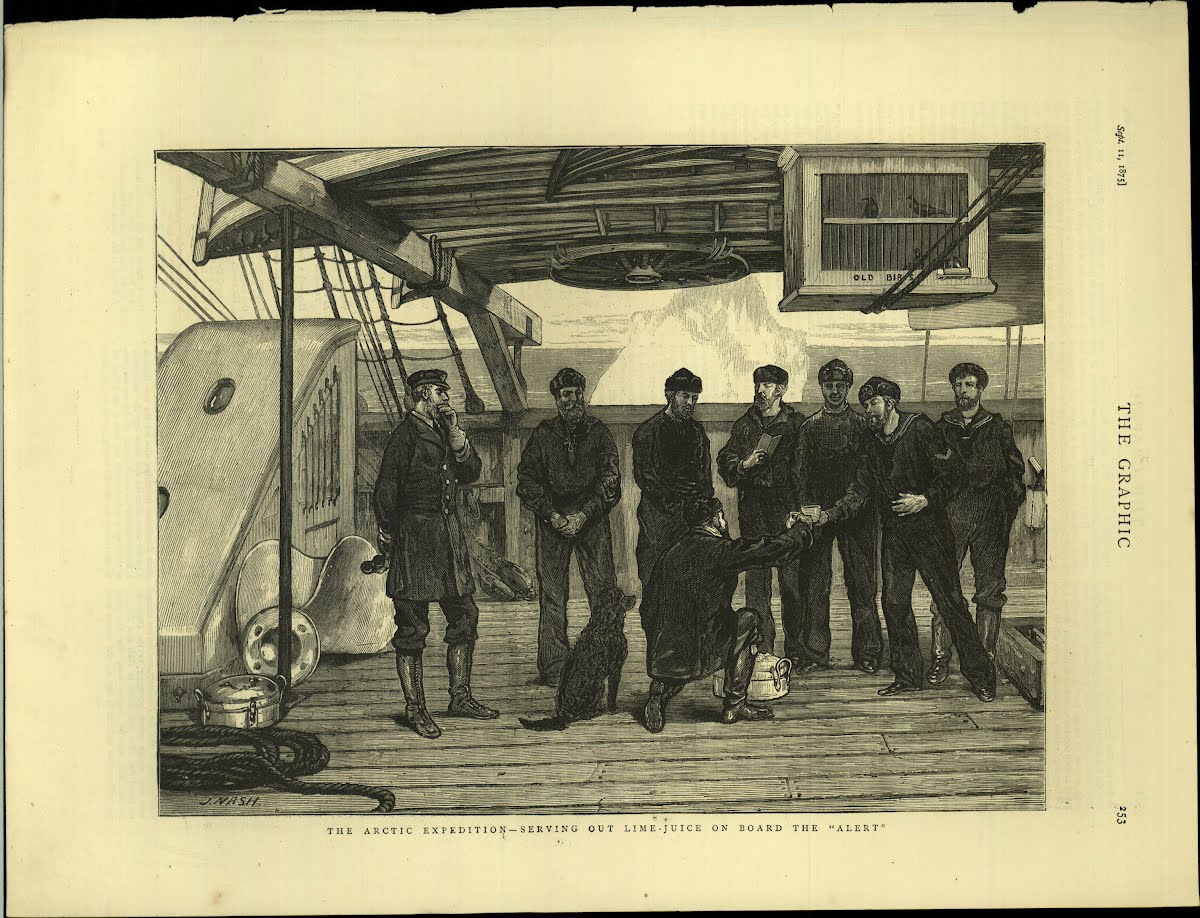 "Exp Arctic 1875/76 Nare's Expedition ""Alert"" / Discovery"
