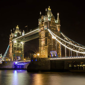 London bridge by Steve Trigger - Buildings & Architecture Bridges & Suspended Structures