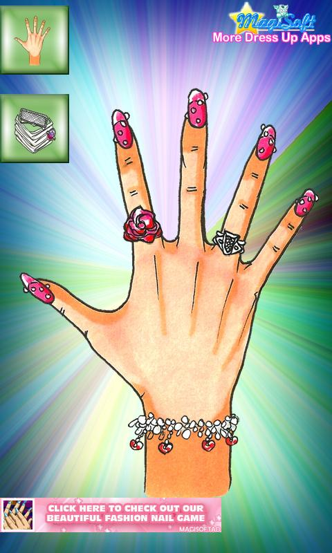 Fashion Style Nails Remix - screenshot