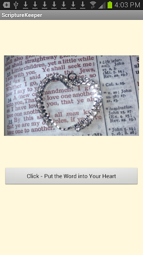 Scripture Keeper TOUCH