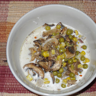 Creamy, Sherry, Mushroom, Soup
