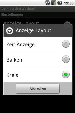 Interpreter Take Turn Timer- screenshot