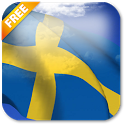 3D Sweden Flag Live Wallpaper icon