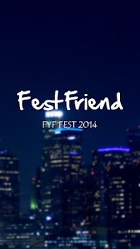 FestFriend for FYF 2014