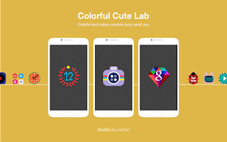 Screenshot of ColorfulLab LINELauncher theme