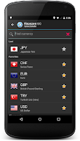 Screenshot of Currency Converter Finanzen100
