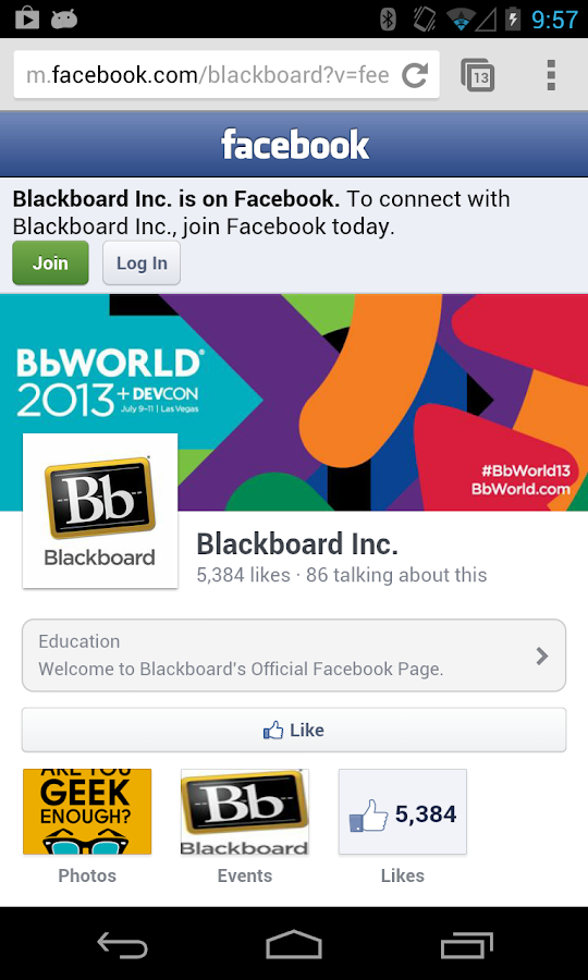 BbWorld 13 - screenshot