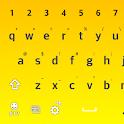 FlatYellow Keyboard LG THEME icon