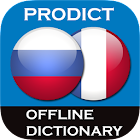 Russian <> French dictionary icon