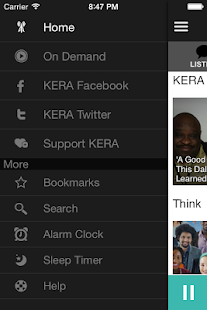 KERA Public Radio App - screenshot thumbnail