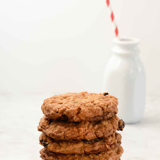 Oatmeal Dried Cherry Cookies