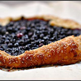 Easy Blueberry Crostata