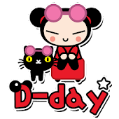 Pucca Ani D-day Widget