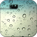 Galaxy S4 Raindrops Wallpaper icon