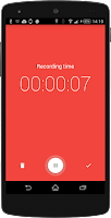 Screenshot of Wear Audio Recorder