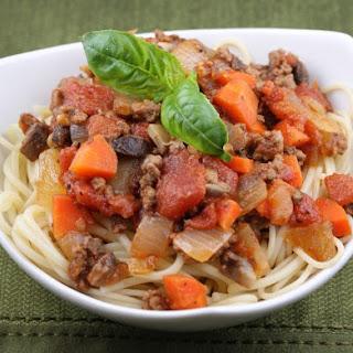 Weight Watchers Spaghetti Bolognese.
