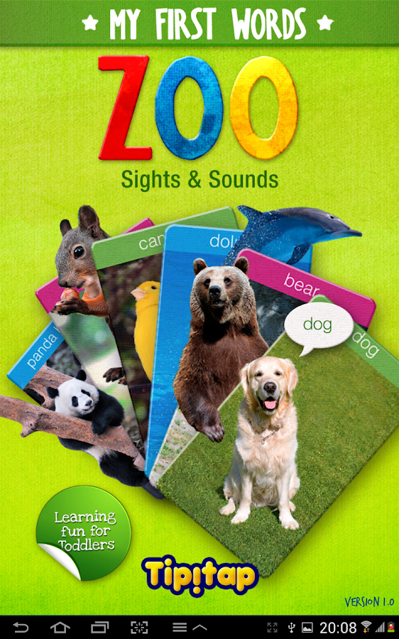 My First Zoo: Sight & Sounds- screenshot