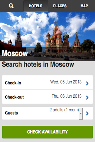 Moscow Hotels Booking Cheap