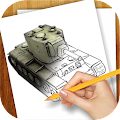 Learn to Draw War Tanks APK for Bluestacks