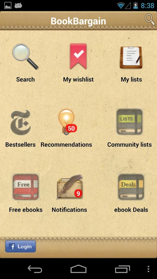 BookBargain Free & Cheap books - screenshot