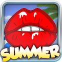 Summer Kissing Test–Kiss Game icon
