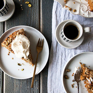 Carrot Cake with Pistachio Crumble