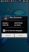 Screenshot of Never Miss A Call