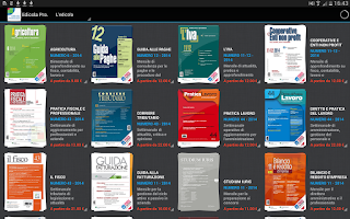 Screenshot of Edicola Professionale